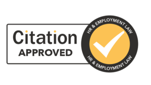 Employment law quality mark PNG